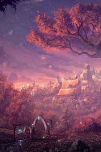 540x960 Forest Fantasy Artwork