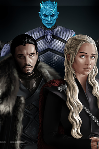 360x640 Game Of Thrones 4k Art