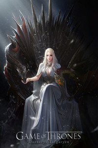 Game of Thrones Daenerys Targaryen Artwork