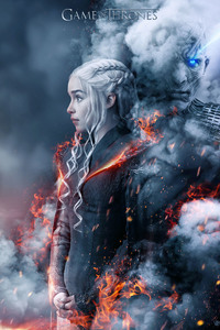 320x480 Game Of Thrones Season 8 Fan Poster