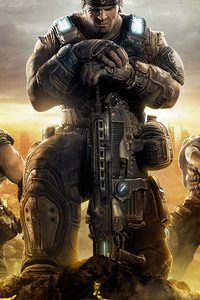 1440x2560 Gears Of War 3 4k