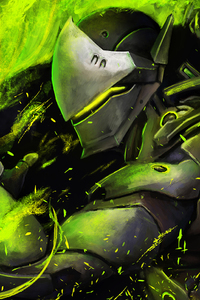 800x1280 Genji Artwork