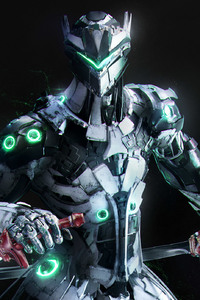 Genji Overwatch Artwork