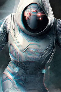 480x800 Ghost In Ant Man And The Wasp Movie