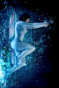 750x1334 Ghost In The Shell 2017 Movie