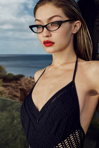 320x480 Gigi Hadid Vogue Eyewear 2018 Photoshoot