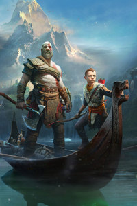 480x800 God Of War 4 2018