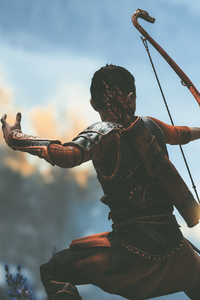 240x400 God Of War 4 Atreus 4k