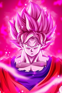 1440x2560 Goku Dragon Ball Super 5k