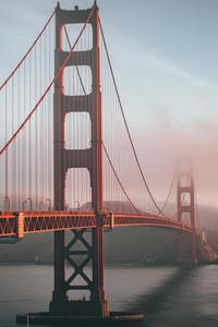 640x1136 Golden Gate Bridge 5k