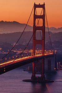 320x568 Golden Gate Bridge San Francicso