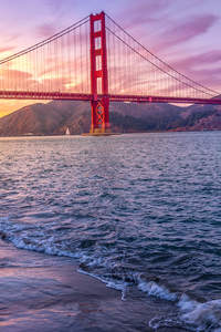 2160x3840 Golden Gate Bridge US 5k 2019