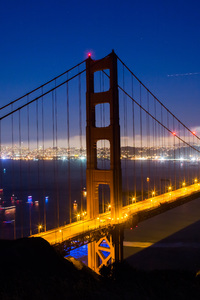 1080x2160 Golden Gate Nights World 5k