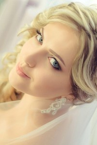Gorgeous Blonde Bride