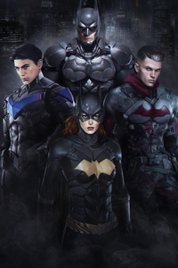 1125x2436 Gothams Bat Family