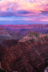 720x1280 Grand Canyon Sunset Pano