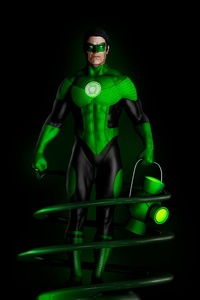 320x568 Green Lantern Fan Art