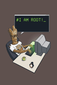 540x960 Groot I Am Root