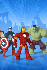 Guardians Of The Galaxy In Marvel Disney Infinity Game