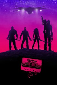 1080x2280 Guardians Of The Galaxy Poster