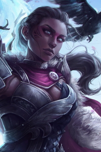 Guild Wars 2 Woman Warrior