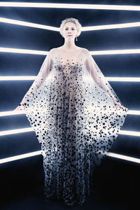320x568 Gwendoline Christie As Captain Phasma In British Vogue 2017