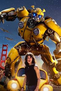 640x960 Hailee Steinfeld In Bumblebee Movie 2018 Poster