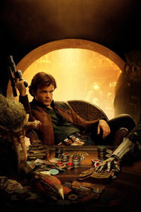 Han Solo In Solo A Star Wars Story 2018 Movie