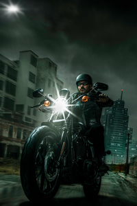 480x800 Harley Davidson Night Riders