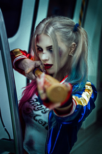 720x1280 Harley Quinn Daddy Little Monster