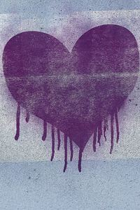 540x960 Heart Graffiti