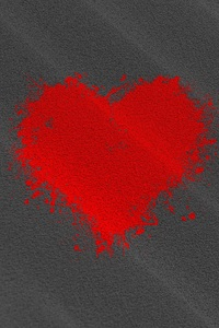 2160x3840 Heart Texture Background 4k