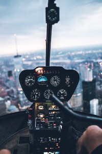 320x568 Helicopter Inside View