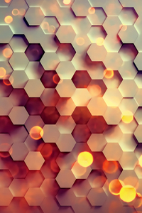 1280x2120 Hexagon 4k