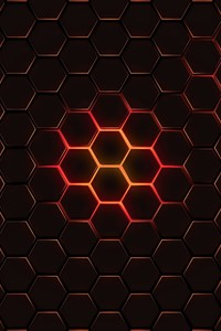 1080x1920 Hexagon Geometry 4k
