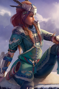 Horizon Zero Dawn Aloy Artwork