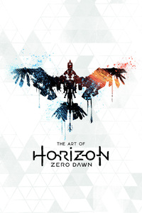 Horizon Zero Dawn Artwork Logo 4k