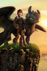 1440x2560 How To Train Your Dragon 3
