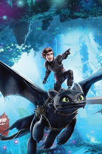 750x1334 How To Train Your Dragon The Hidden World 12k Poster