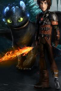 640x1136 How To Train Your Dragon The Hidden World Art
