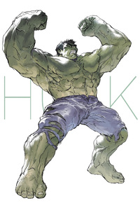 Hulk Artwork For Avengers Infinity War
