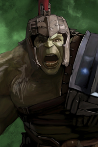 Hulk Gladiator Artwork