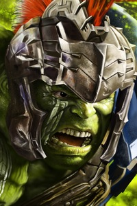 2160x3840 Hulk In Thor Ragnarok 8k Artwork