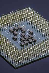 640x960 Integrated Circuit Computer Processor Microchip Technology