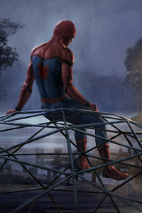 Iron Man And Spiderman 5k Artwork