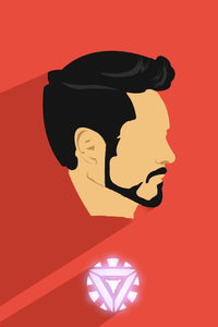 Iron Man Artwork HD 2017 1080x1920
