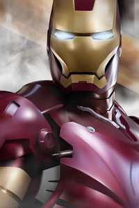 720x1280 Iron Man Behance Art