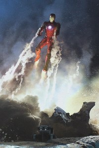 Iron Man Concept Art Marvel