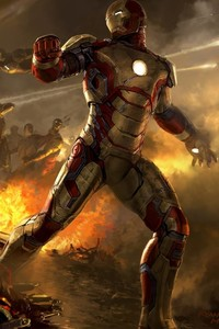 320x568 Iron Man Fanart