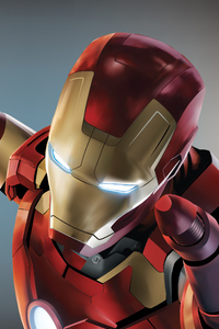 360x640 Iron Man HD Artwork